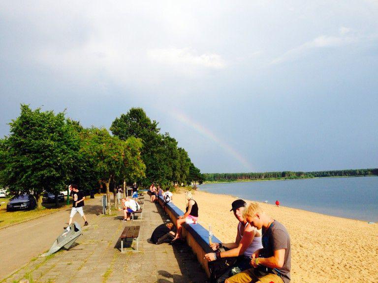 Strandpromenade Helenesee 28.07.2014