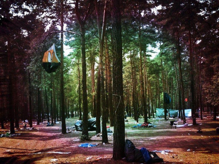 Campingplatz am Montag den 28.07.2014