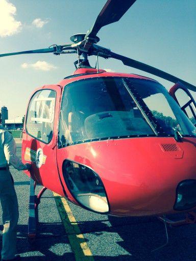 Helikopter-Rundflug über die Berlin
