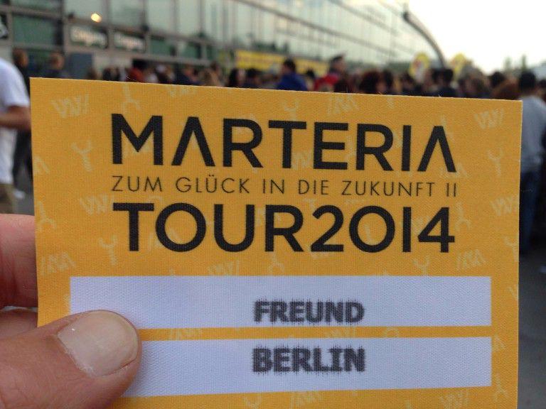 Marteria - zum Glück in die Zukunft II. Tour 2014 - Max-Schmeling-Halle Berlin