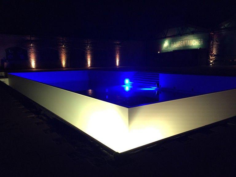 Haubentaucher Opening - Pool Area