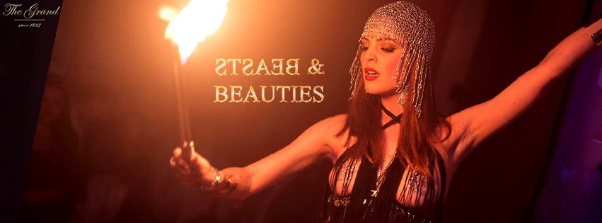 Beasts & Beauties Resident Showact Tara Darson